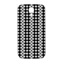 Black And White Texture Samsung Galaxy S4 I9500/i9505  Hardshell Back Case