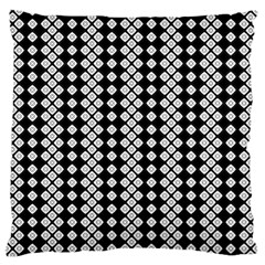 Black And White Texture Standard Flano Cushion Case (one Side)