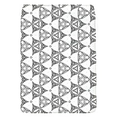 Black And White Pattern Removable Flap Cover (s)