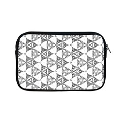 Black And White Pattern Apple Macbook Pro 13  Zipper Case