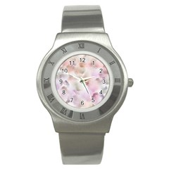 Watercolor Seamless Texture Stainless Steel Watch