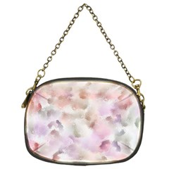Watercolor Seamless Texture Chain Purse (one Side)