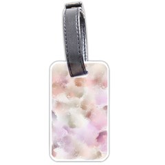 Watercolor Seamless Texture Luggage Tags (one Side)