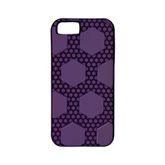 Hexagon Grid Geometric Hexagonal Apple Iphone 5 Classic Hardshell Case (pc+silicone)