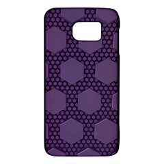 Hexagon Grid Geometric Hexagonal Samsung Galaxy S6 Hardshell Case