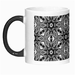 Black And White Pattern Morph Mugs