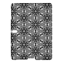 Black And White Pattern Samsung Galaxy Tab S (10 5 ) Hardshell Case