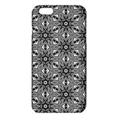 Black And White Pattern Iphone 6 Plus/6s Plus Tpu Case by Simbadda