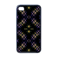 Seamless Background Abstract Vector Apple Iphone 4 Case (black)