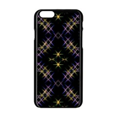 Seamless Background Abstract Vector Apple Iphone 6/6s Black Enamel Case