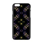 Seamless Background Abstract Vector Apple iPhone 6/6S Black Enamel Case Front