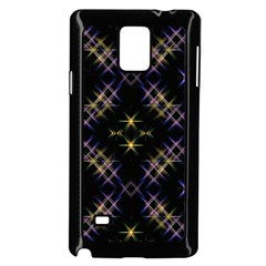 Seamless Background Abstract Vector Samsung Galaxy Note 4 Case (black)