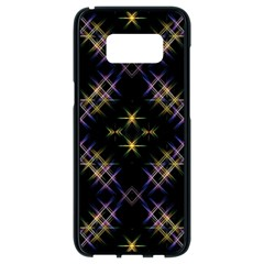 Seamless Background Abstract Vector Samsung Galaxy S8 Black Seamless Case
