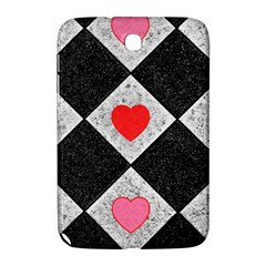 Diamonds Hearts Mosaic Pattern Samsung Galaxy Note 8 0 N5100 Hardshell Case