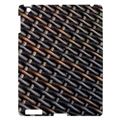 Rattan Wood Background Pattern Apple Ipad 3/4 Hardshell Case