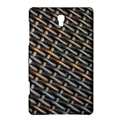 Rattan Wood Background Pattern Samsung Galaxy Tab S (8 4 ) Hardshell Case