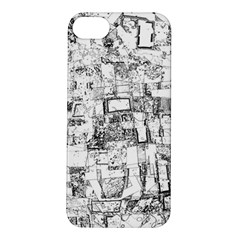 Black And White Background Wallpaper Pattern Apple Iphone 5s/ Se Hardshell Case