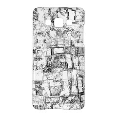 Black And White Background Wallpaper Pattern Samsung Galaxy A5 Hardshell Case