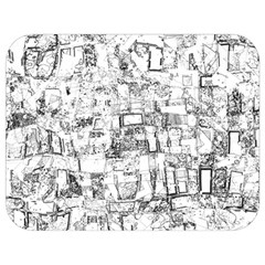 Black And White Background Wallpaper Pattern Full Print Lunch Bag