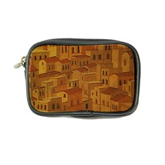 Roof Building Canvas Roofscape Coin Purse by Simbadda