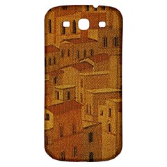 Roof Building Canvas Roofscape Samsung Galaxy S3 S Iii Classic Hardshell Back Case