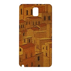 Roof Building Canvas Roofscape Samsung Galaxy Note 3 N9005 Hardshell Back Case