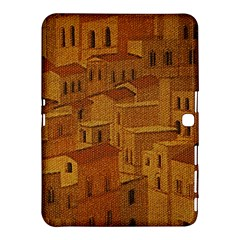 Roof Building Canvas Roofscape Samsung Galaxy Tab 4 (10 1 ) Hardshell Case