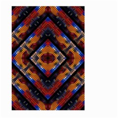 Kaleidoscope Art Pattern Ornament Large Garden Flag (two Sides)