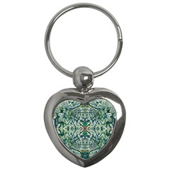 Pattern Design Pattern Geometry Key Chains (heart)