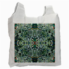 Pattern Design Pattern Geometry Recycle Bag (one Side) by Simbadda