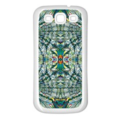 Pattern Design Pattern Geometry Samsung Galaxy S3 Back Case (white)