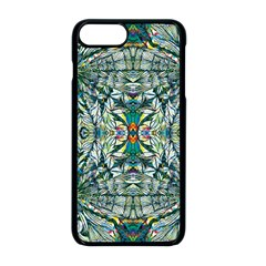 Pattern Design Pattern Geometry Apple Iphone 8 Plus Seamless Case (black)