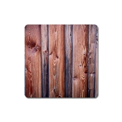 Wood Boards Wooden Wall Wall Boards Square Magnet by Simbadda