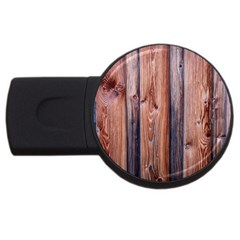 Wood Boards Wooden Wall Wall Boards Usb Flash Drive Round (2 Gb)