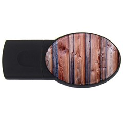 Wood Boards Wooden Wall Wall Boards Usb Flash Drive Oval (4 Gb)
