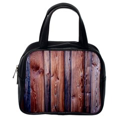 Wood Boards Wooden Wall Wall Boards Classic Handbag (one Side)