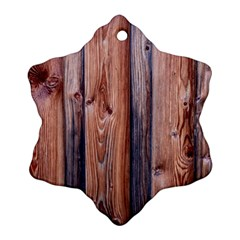 Wood Boards Wooden Wall Wall Boards Ornament (snowflake)