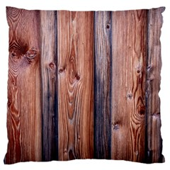 Wood Boards Wooden Wall Wall Boards Large Cushion Case (two Sides)