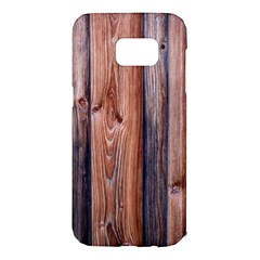 Wood Boards Wooden Wall Wall Boards Samsung Galaxy S7 Edge Hardshell Case