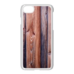 Wood Boards Wooden Wall Wall Boards Apple Iphone 7 Seamless Case (white)