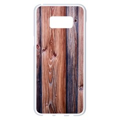 Wood Boards Wooden Wall Wall Boards Samsung Galaxy S8 Plus White Seamless Case by Simbadda