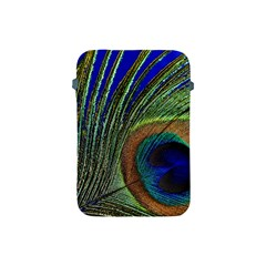 Peacock Feather Macro Peacock Bird Apple Ipad Mini Protective Soft Cases by Simbadda