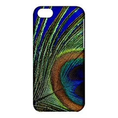 Peacock Feather Macro Peacock Bird Apple Iphone 5c Hardshell Case