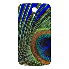 Peacock Feather Macro Peacock Bird Samsung Galaxy Mega I9200 Hardshell Back Case