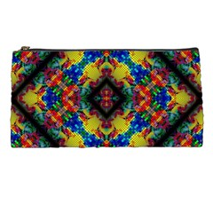 Kaleidoscope Art Pattern Ornament Pencil Cases by Simbadda