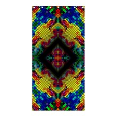 Kaleidoscope Art Pattern Ornament Shower Curtain 36  X 72  (stall)