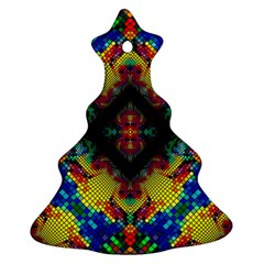 Kaleidoscope Art Pattern Ornament Ornament (christmas Tree)