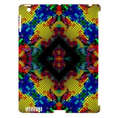 Kaleidoscope Art Pattern Ornament Apple Ipad 3/4 Hardshell Case (compatible With Smart Cover)