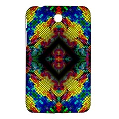 Kaleidoscope Art Pattern Ornament Samsung Galaxy Tab 3 (7 ) P3200 Hardshell Case