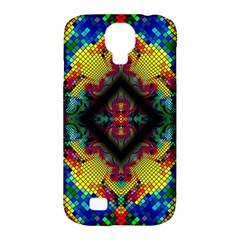 Kaleidoscope Art Pattern Ornament Samsung Galaxy S4 Classic Hardshell Case (pc+silicone)